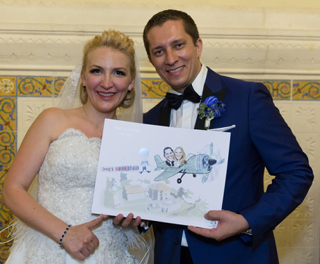 Nunta Marius si Teodora, Palatul Cantacuzino, Busteni