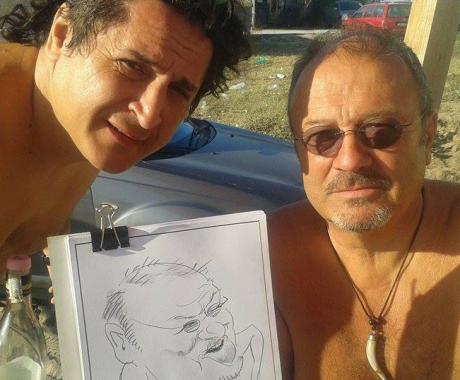 Caricatura Mircea Baniciu