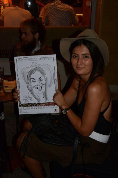 Caricaturi la eveniment, Ziua Internationala a Barbii, Bucuresti
