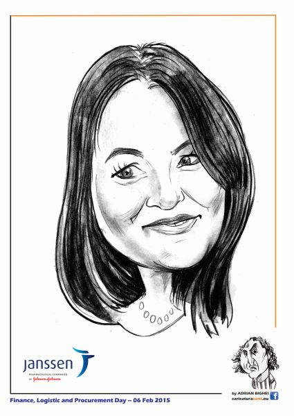Caricaturi - portrete la comanda by Adrian Bighei