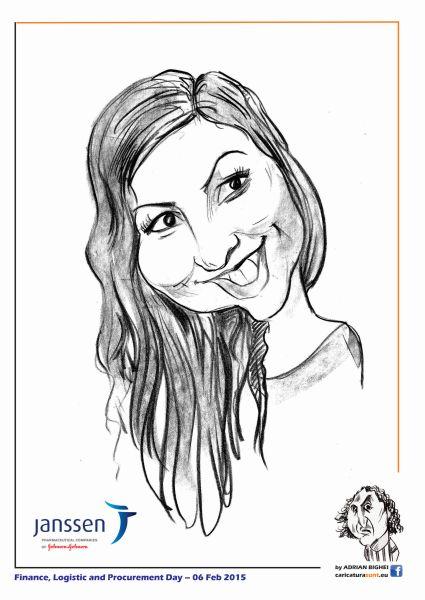 caricaturi - portrete la comanda