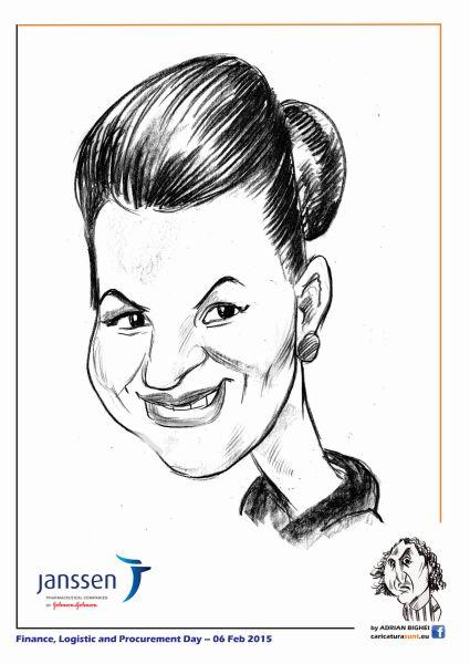 Caricaturi - portrete la comanda, caricaturist Adrian Bighei