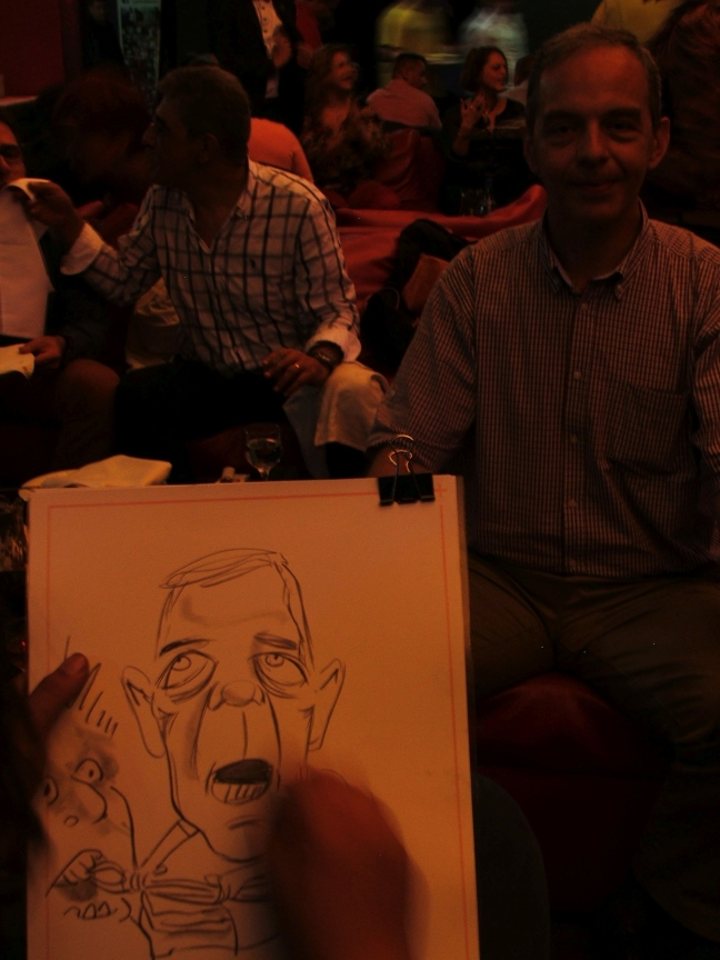 Caricaturi la petrecerea SMURD, Targu-Mures