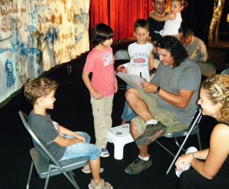 "Training despre caricatura la expozitia ""ARTERNATIVELIGHT"" in Monaco, Franta"