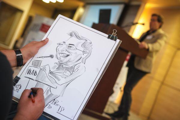 Caricaturi la evenimente, conferinte, targuri