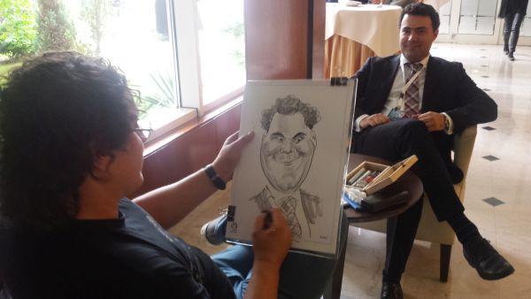 Caricaturi la evenimente, conferinte, targuri si expozitii