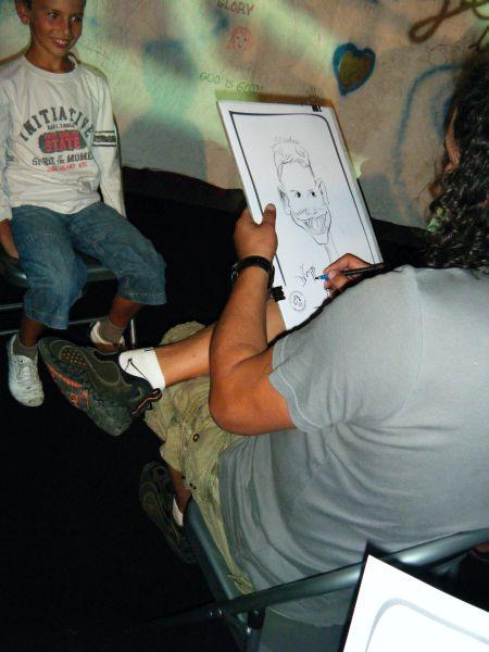 training despre caricatura , Monaco, Franta