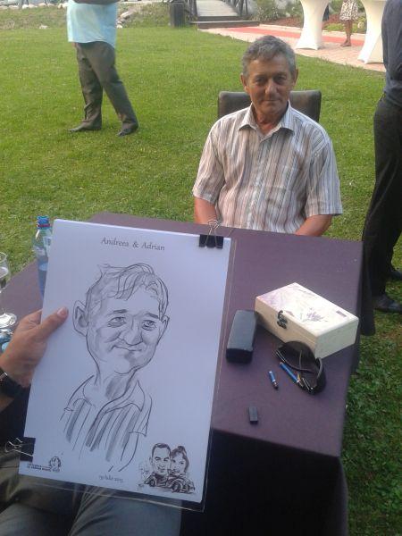 Caricatura la comanda by Bighei Adrian
