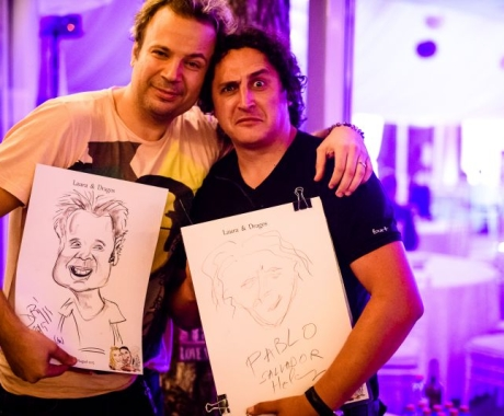 Caricatura artistului Dan Helciug