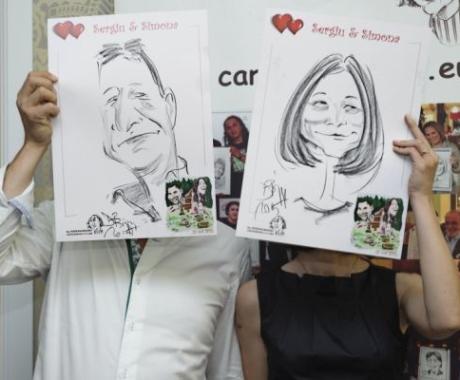 Caricaturi – marturii la nunta