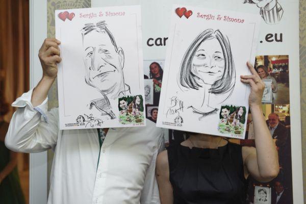 Caricaturi - marturii la nunta by Adrian Bighei