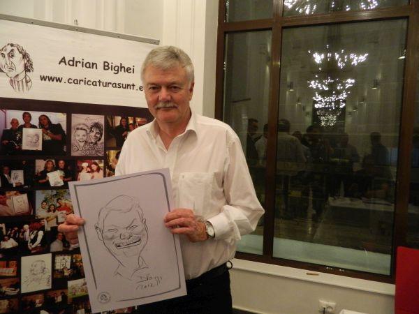 Caricaturi la evenimente corporate, targuri, expozitii