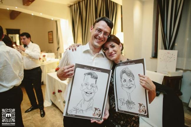 Caricaturi - marturii de nunta by Caricaturasunt.eu