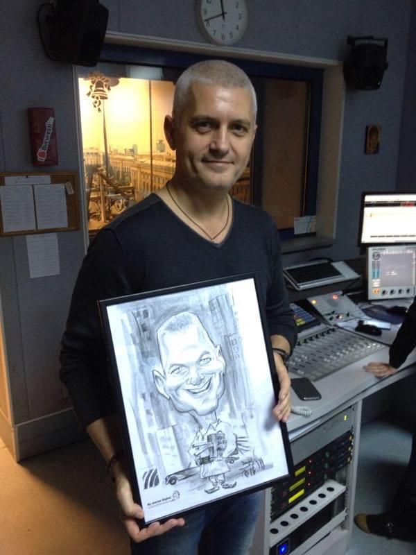 Caricaturi la Radio Bucuresti