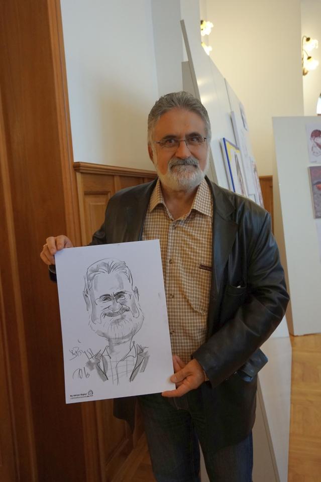 Expozitie-personala-caricatura-Adrian Bighei