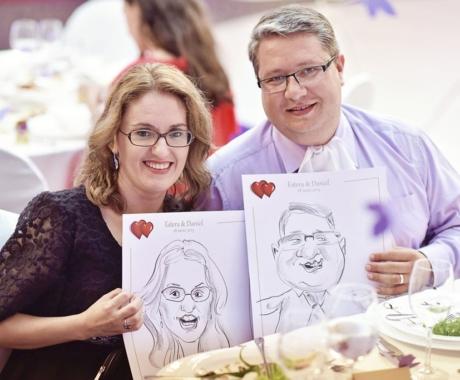 Caricaturi – marturii la nunti