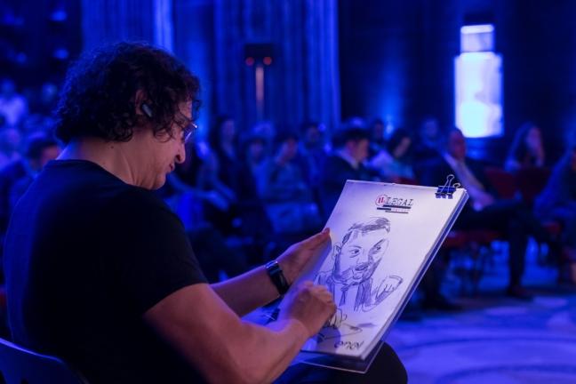 Caricaturist evenimente - Adrian Bighei