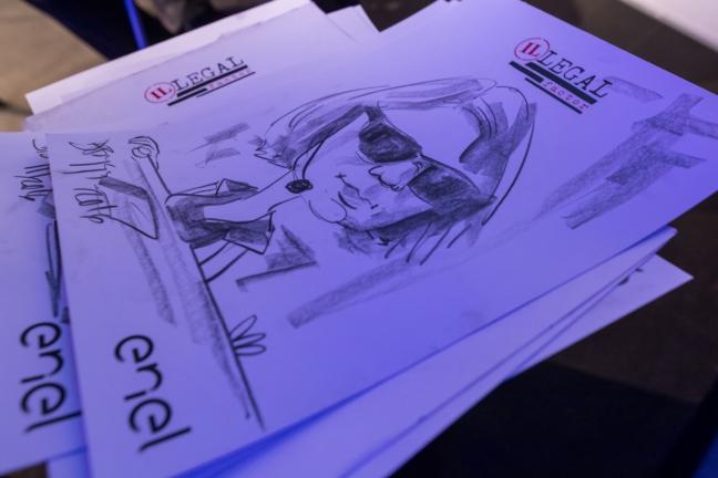Caricaturi eveniment Enel
