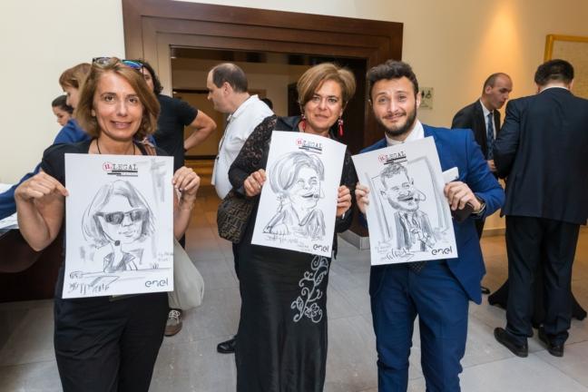 Caricaturi eveniment Enel by Caricaturasunt.eu