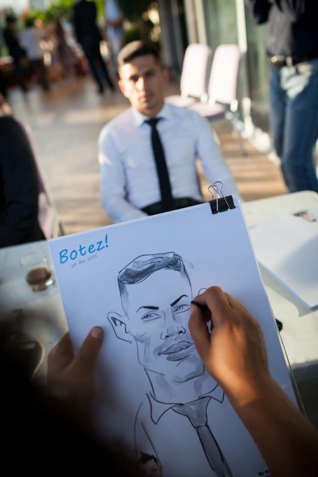 caricaturist la botez