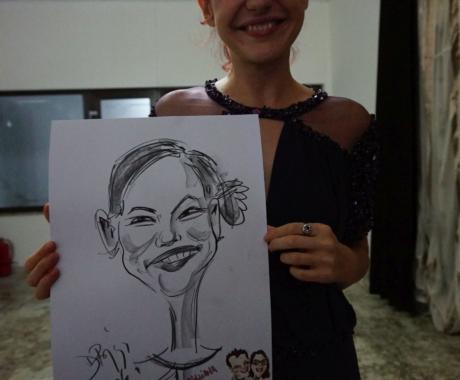Caricaturist nunta, Padurea Paulesti, Prahova
