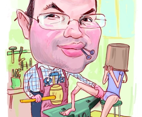 Cadou personalizat -caricatura digitala