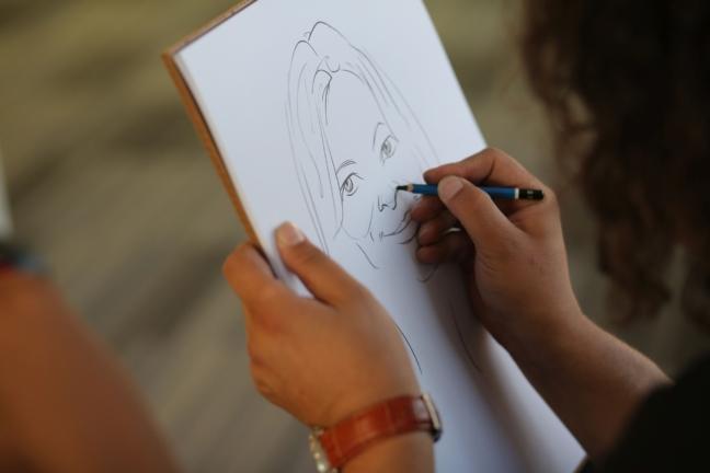 Caricaturi la evenimente, Eucom, Brasov