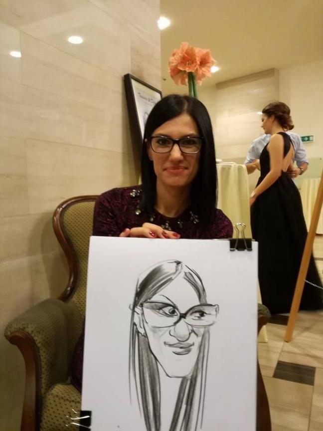 Caricaturi - portrete la nunta, Bistrita