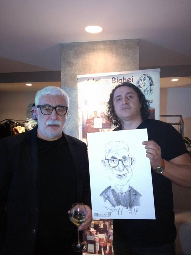 Caricatura - portret Adrian Sarbu