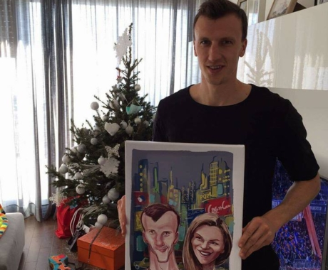 Caricatura Vlad Chiriches