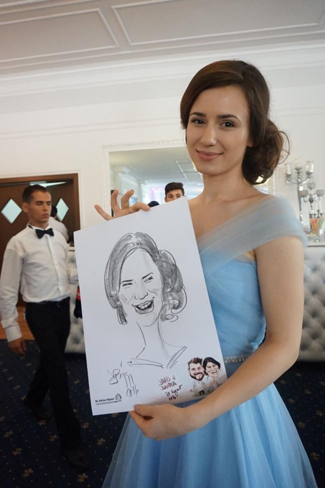 Caricaturi si portrete by Adrian Bighei