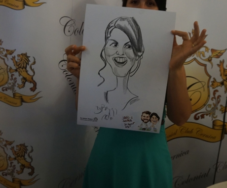 Caricaturi si portrete la nunta