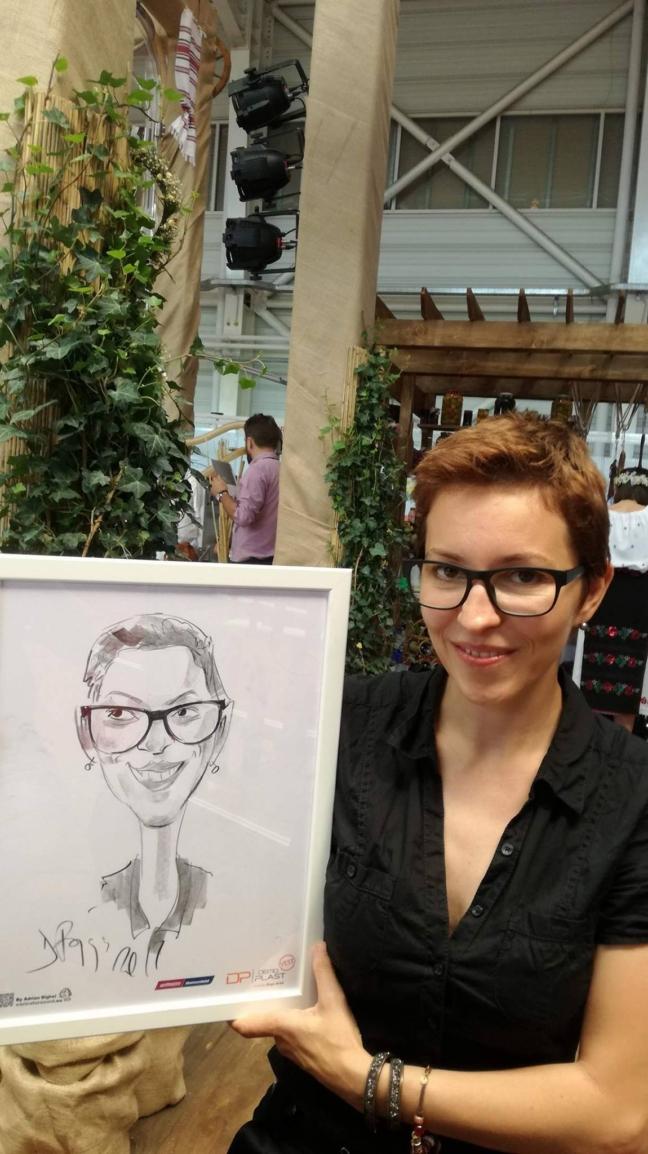 Caricaturi la Expo Arad