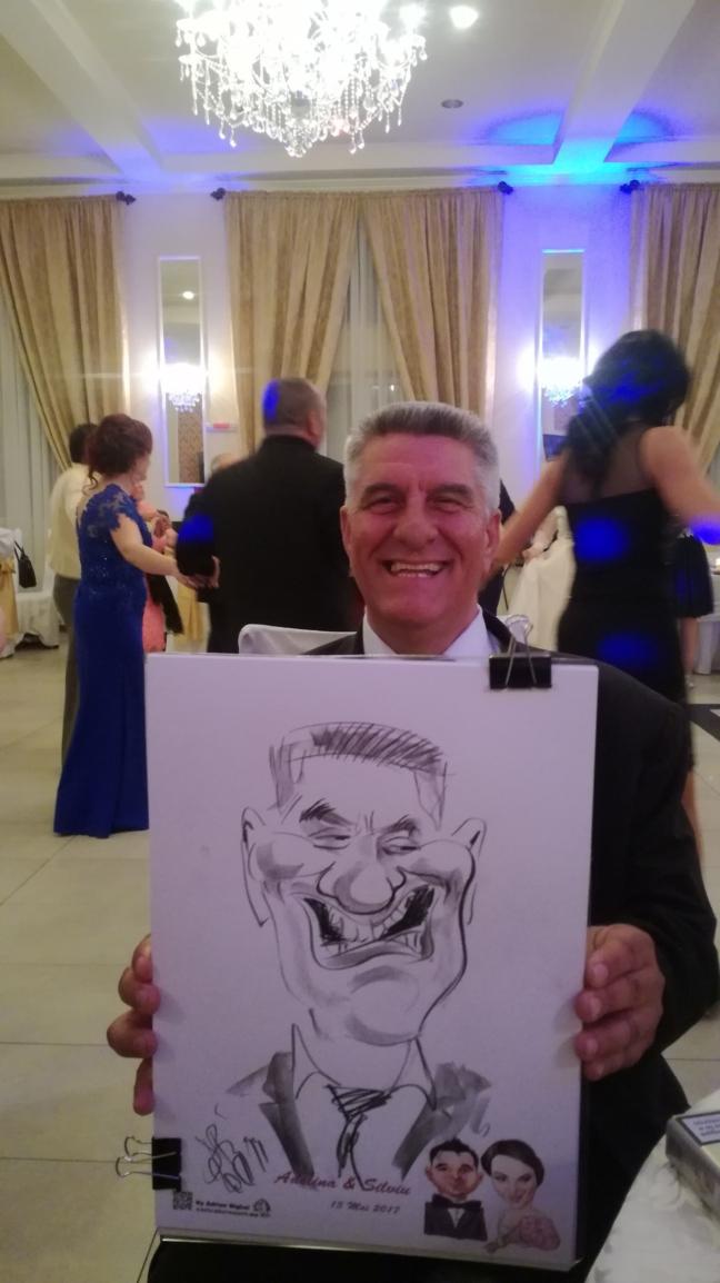 Nunta si caricaturi la Satu Mare!