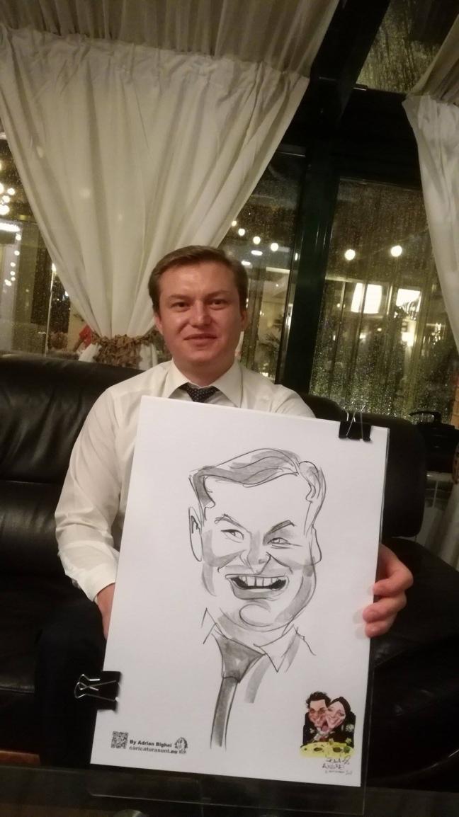 Marturii caricaturi la nunta, Hotel Caro, Bucuresti