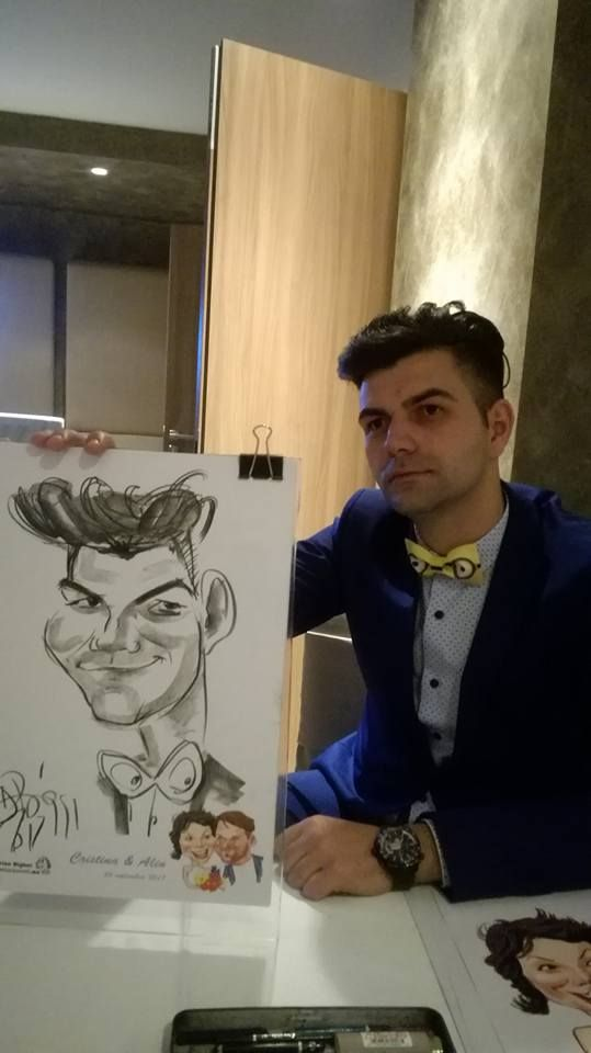 Caricaturi la evenimente