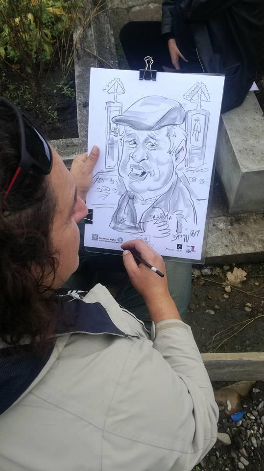 Caricatura la Sapanta