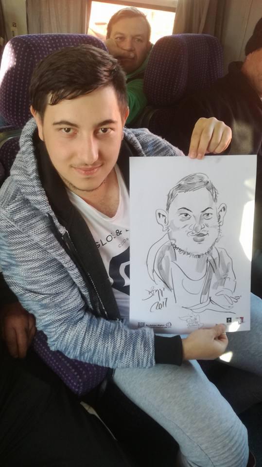Caricatura din proiectul