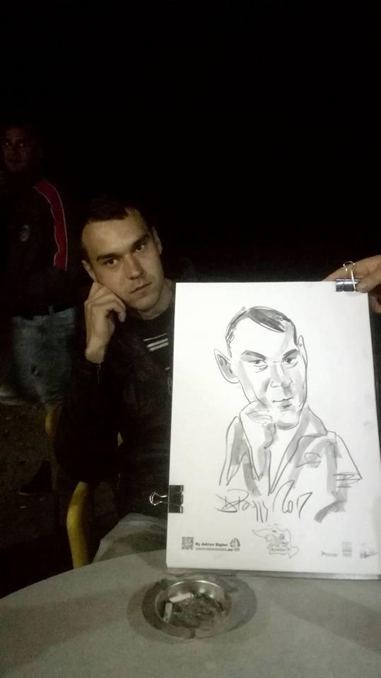 Caricaturi la Manastioara, Suceava