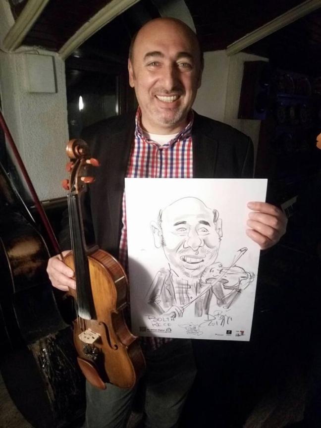 Caricaturi la Bolta Rece, Iasi by Bighei Adrian