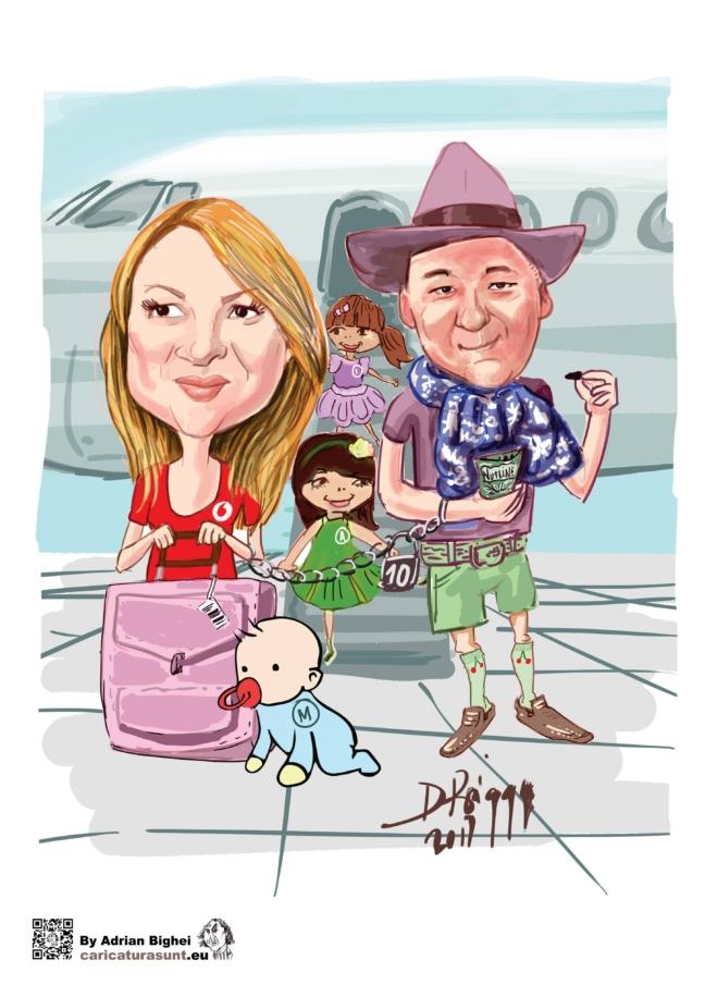 Caricatura de familie by Bighei Adrian