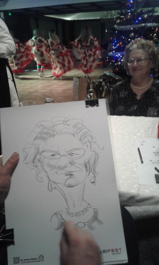 Caricaturi - portret by Adrian Bighei