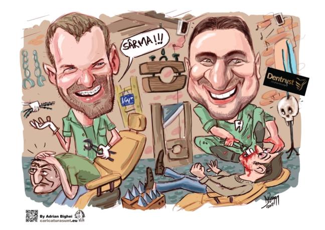 Caricatura digitala personalizata by Adrian Bighei