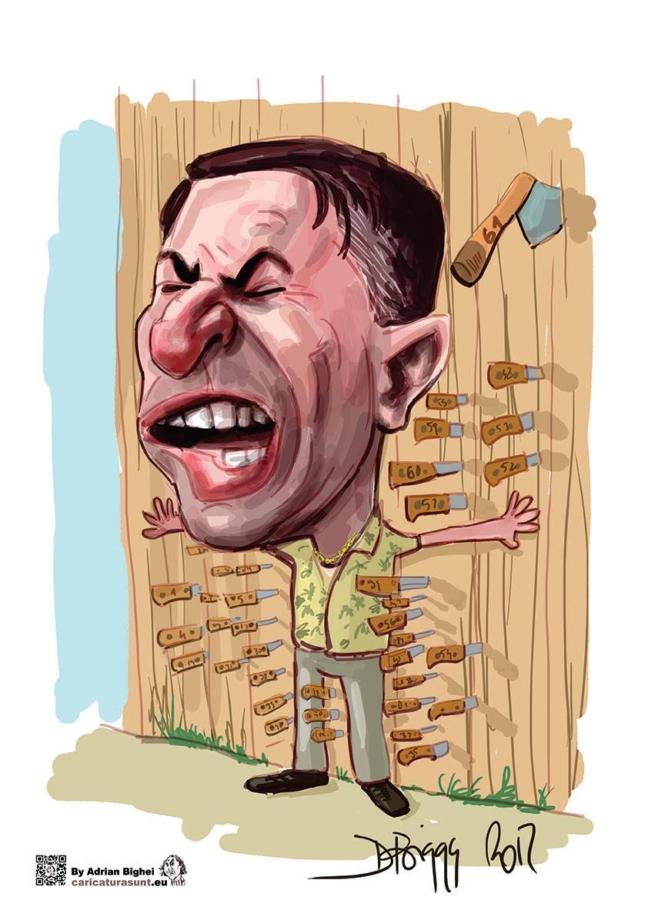 Caricatura digitala by Adrian Bighei