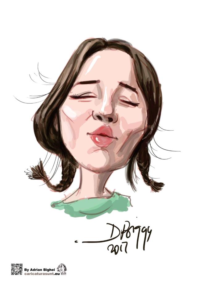 Caricatura digitala simpla by Bighei Adrian