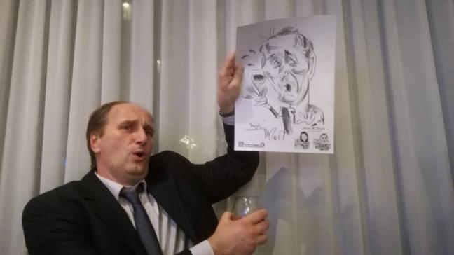 Caricaturi - marturii la nunta, Saftica
