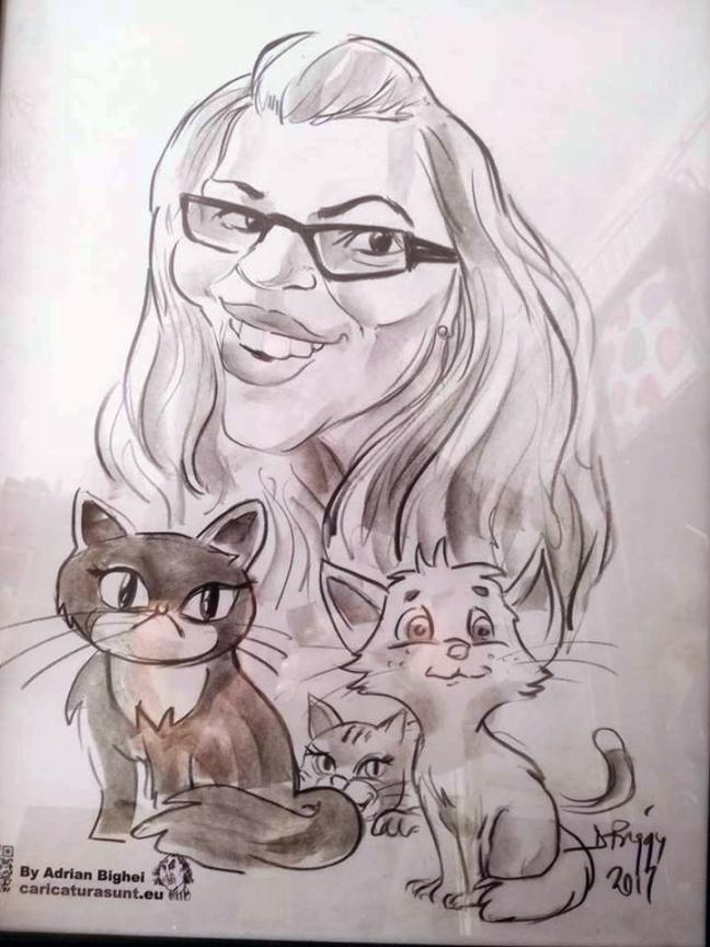 Cadou-caricatura, Ziua Indragostitilor
