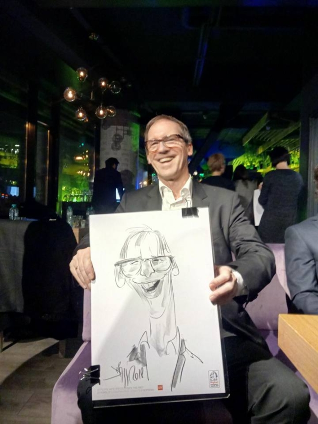 Adrian Bighei - Caricaturi dupa fotografie