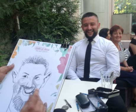 Atelier de caricaturi si nu numai, la nunti si evenimente!