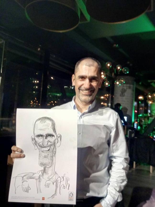 Caricaturi evenimente by Adrian Bighei